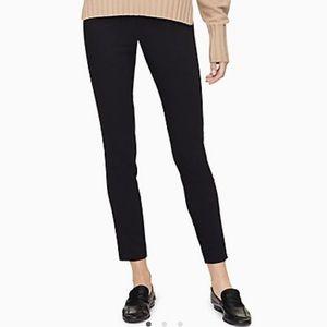 Calvin Klein Black Stretch Modern Essentials Pants